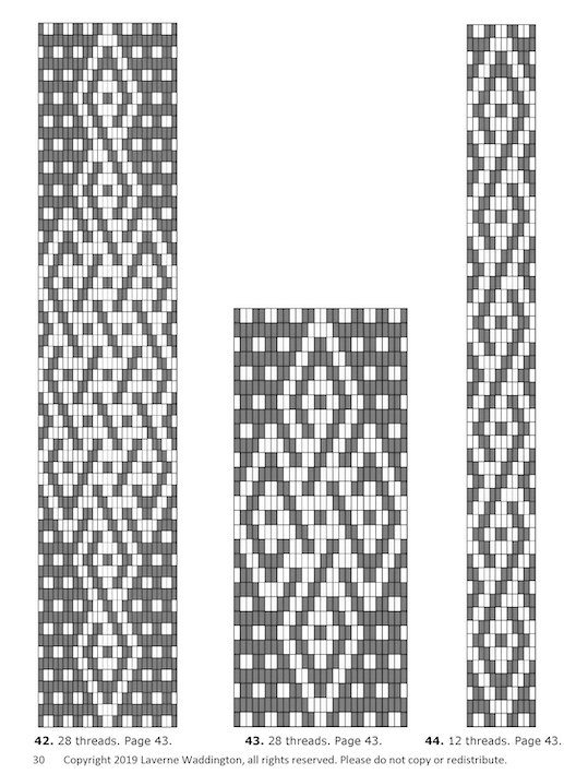 Image Description for https://d3oezqarn9h8ok.cloudfront.net/laverne_waddington/more_andean_pebble_weave_patterns/preview_page_4.jpg